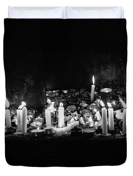 Memorial Candles II Duvet Cover