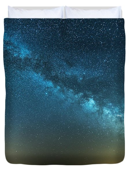 Memorial Day Milky Way Duvet Cover by Patrick Fennell