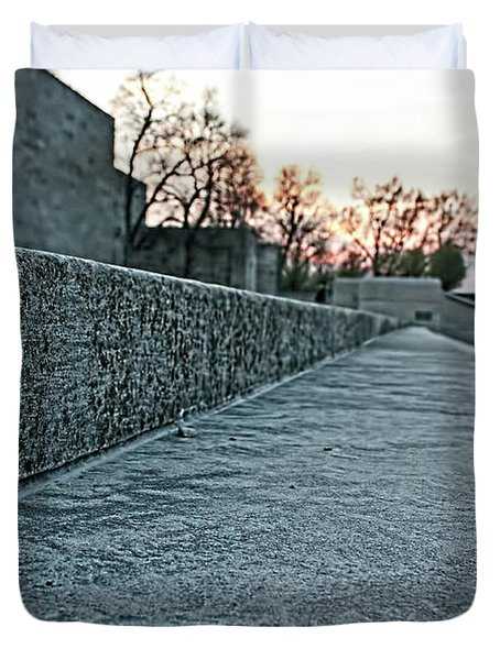 Memorial Steps Duvet Cover