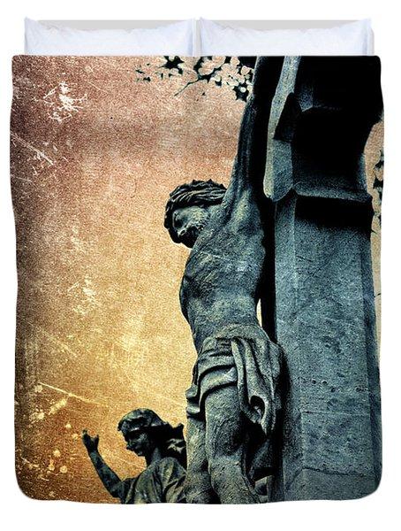 Memorializing Duvet Cover by Scott Wyatt