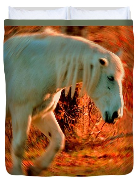 Memories At Sunset Duvet Cover