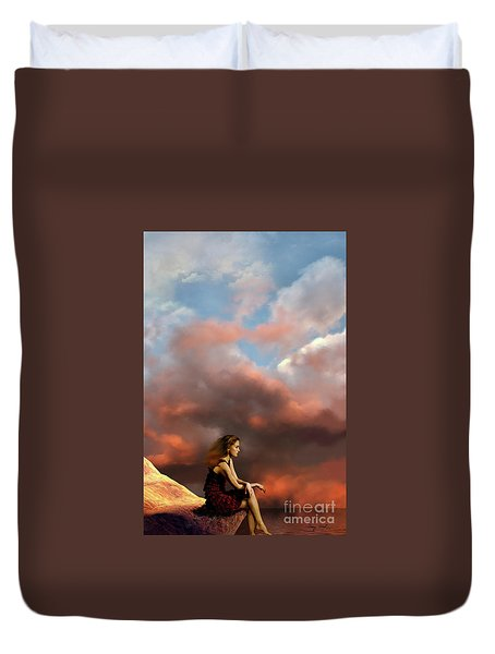 Memories Duvet Cover by Corey Ford