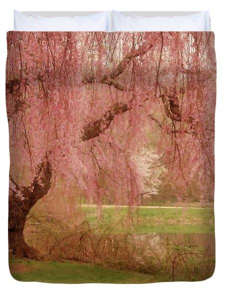 Memories - Holmdel Park Duvet Cover