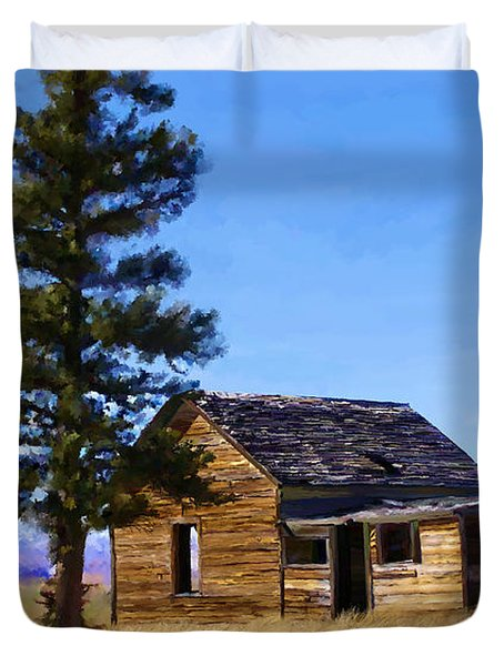 Memories Of Montana Duvet Cover