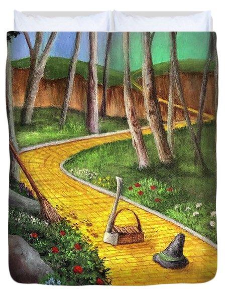 Memories Of Oz Duvet Cover