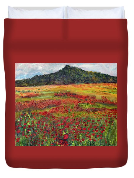 Memories Of Provence Duvet Cover