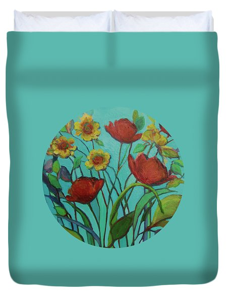 Memories Of The Meadow Duvet Cover