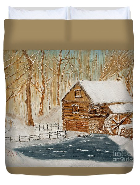 Memories Of The Past Duvet Cover