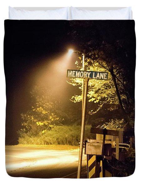 Memory Lane Duvet Cover