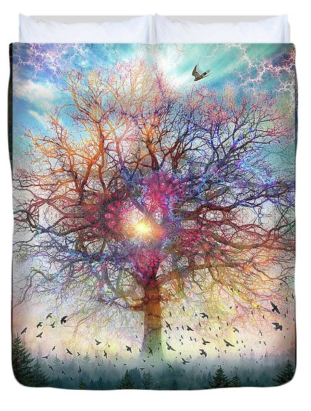 Memory Of A Tree Duvet Cover