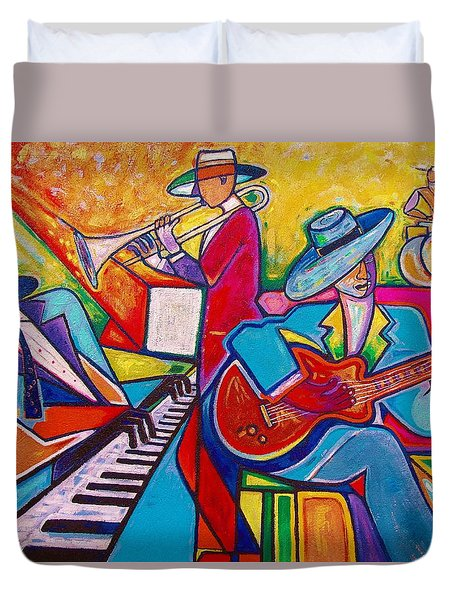 Memphis Music Duvet Cover