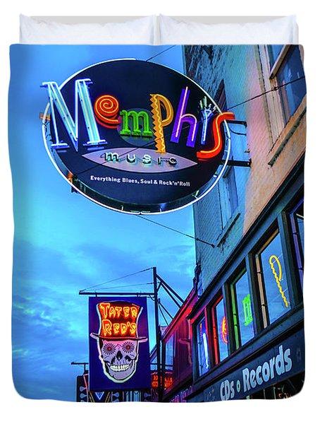 Memphis Soul Duvet Cover