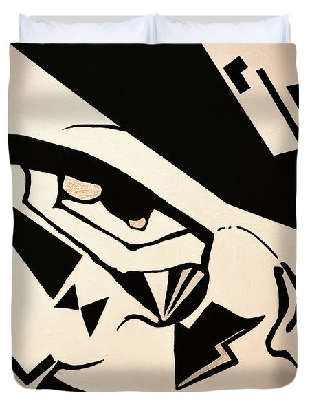 Menace Of Mischief Duvet Cover