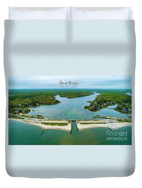 Menauhant Beach Duvet Cover