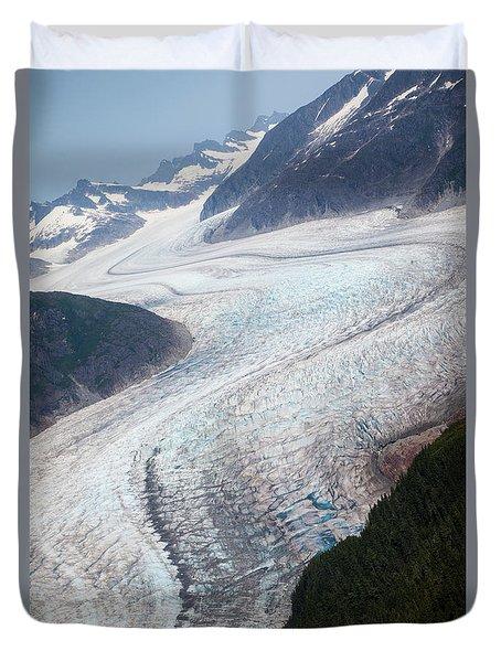 Mendenhal Glacier Duvet Cover