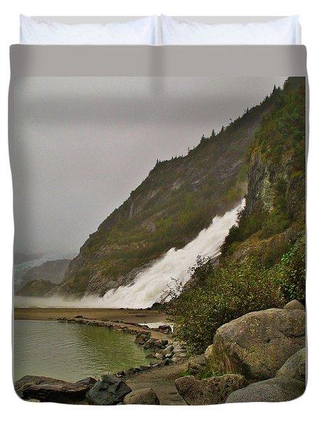 Mendenhall Glacier Park Duvet Cover