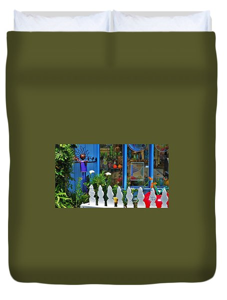 Mendocino Art Center Duvet Cover