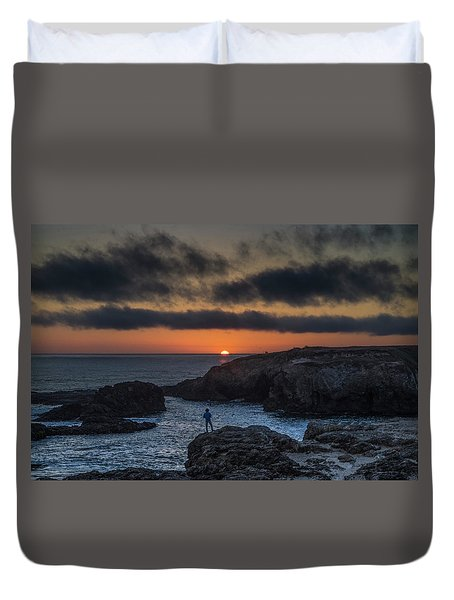 Mendocino Sunset Duvet Cover