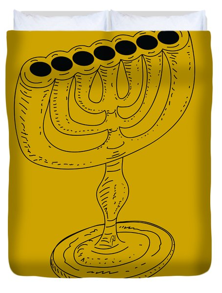Menorah 1 Duvet Cover