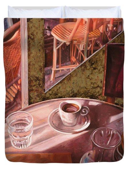 Mentre Ti Aspetto Duvet Cover by Guido Borelli