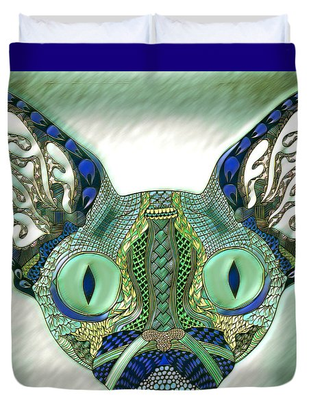 Meow Cat Duvet Cover