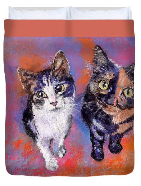 Meow Mix Duvet Cover