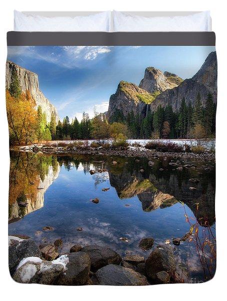 Merced Reflections Duvet Cover