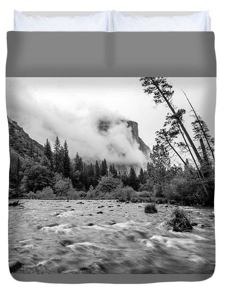 Merced River Duvet Cover