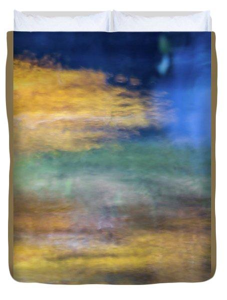 Merced River Reflections 12 Duvet Cover