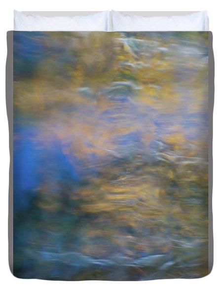 Merced River Reflections 18 Duvet Cover