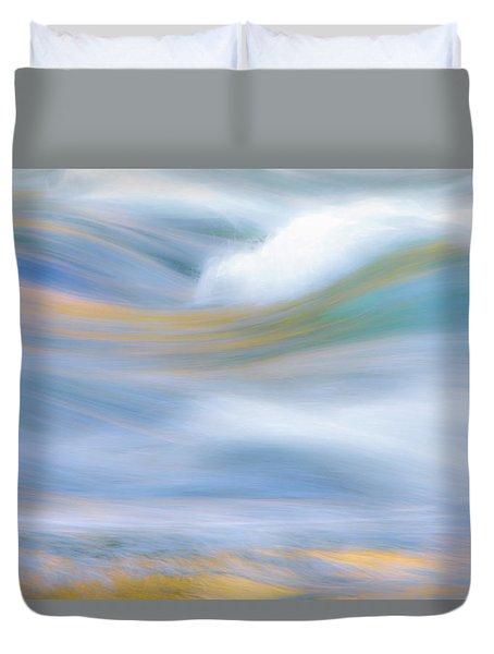 Merced River Reflections 19 Duvet Cover