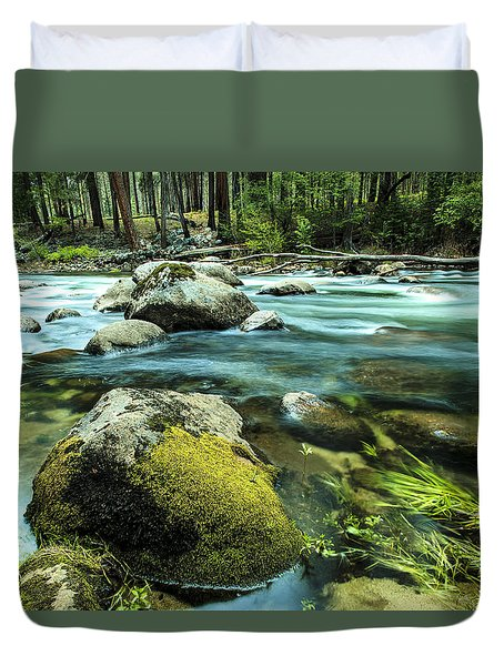 Merced River Yosemite 2 Duvet Cover