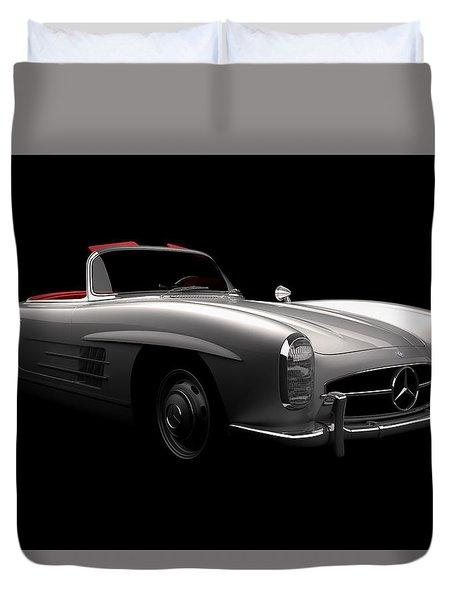 Mercedes 300 Sl Roadster Duvet Cover