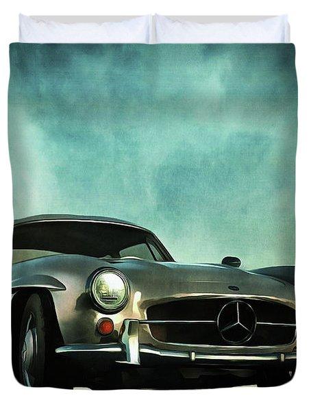 Mercedes 300sl Duvet Cover