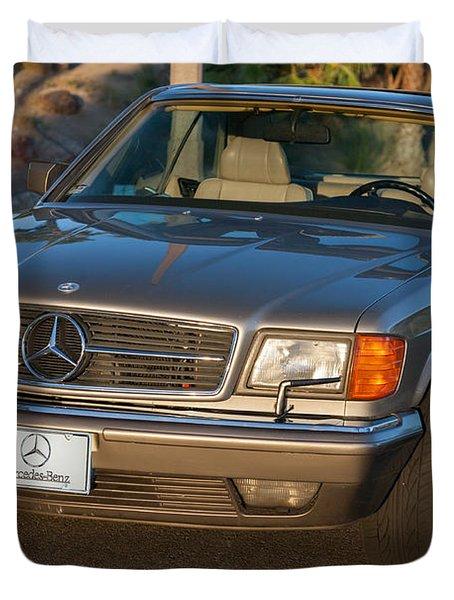 Mercedes 560sec W126 Duvet Cover