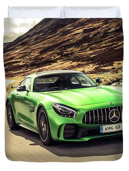 Mercedes A M G  G T  R Duvet Cover
