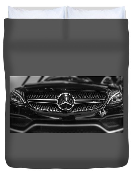Mercedes Amg Duvet Cover by Don Mennig