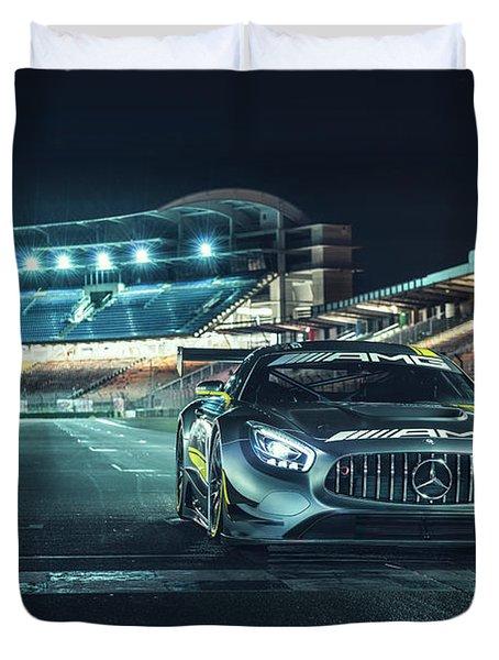 Mercedes-amg Gt3 Duvet Cover