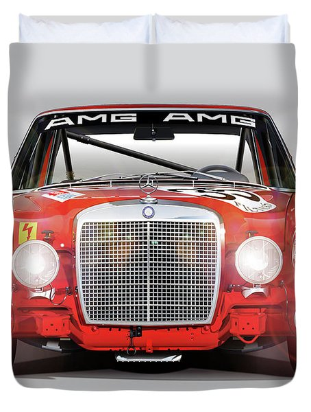 Mercedes-benz 300sel 6.3 Amg Duvet Cover