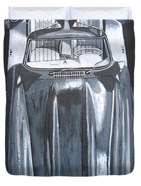 Mercedes Benz Gullwing Duvet Cover