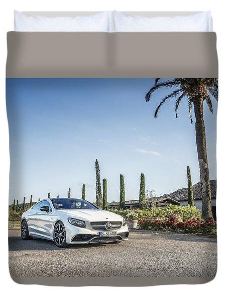 Mercedes Benz S63 Coupe Duvet Cover