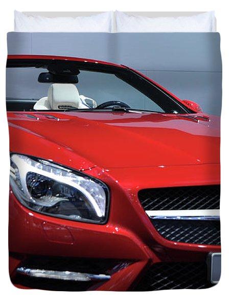 Mercedes Benz Sl Duvet Cover