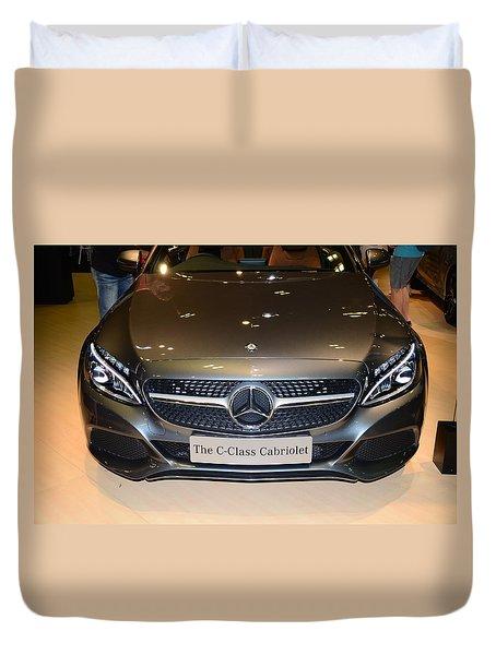 Mercedes Cabriolet Duvet Cover