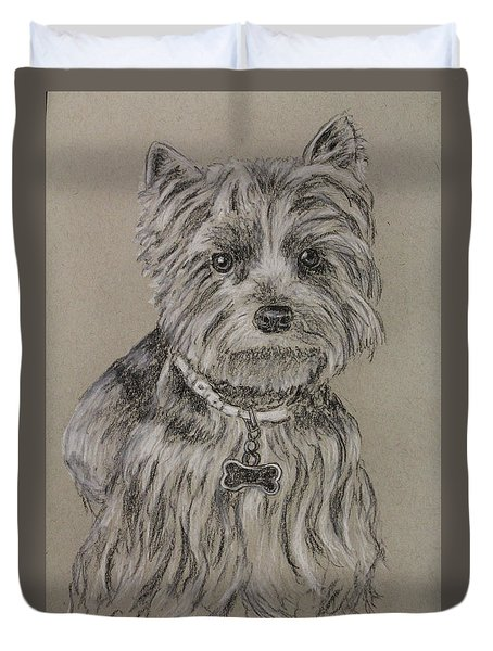 Mercedes The Shih Tzu Duvet Cover