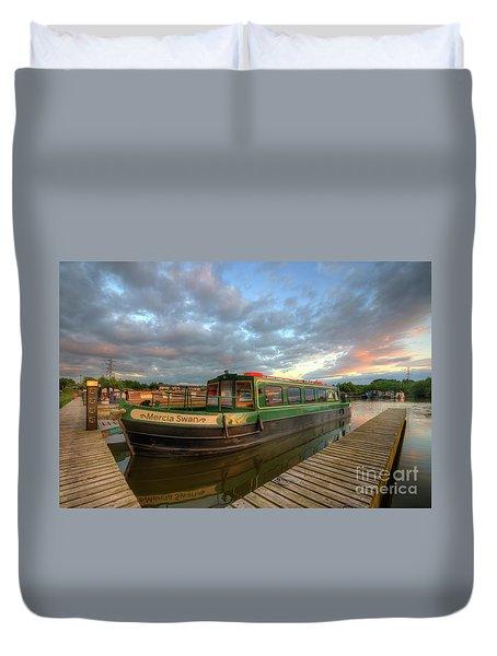 Duvet Cover featuring the photograph Mercia Marina 14.0 by Yhun Suarez