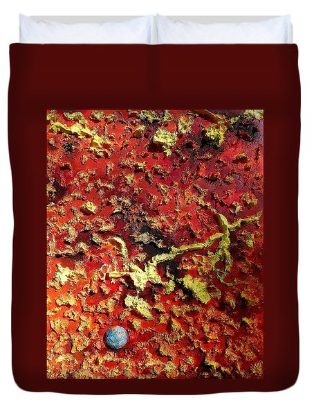 Mercury Duvet Cover by Raymond Perez
