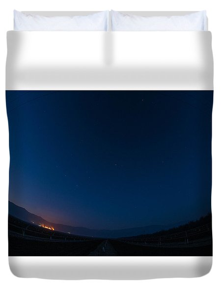 Mercury, Venus, Mars, Saturn And Venus 2016 Duvet Cover