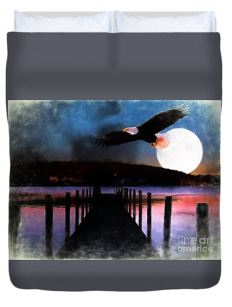 Meredith N H Digital Paint Duvet Cover