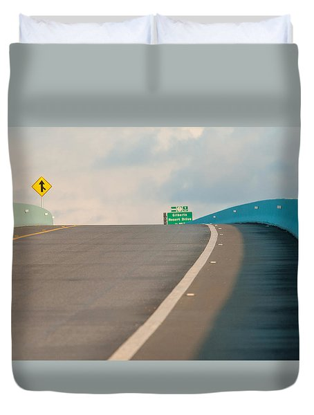 Merge To The Clouds Duvet Cover