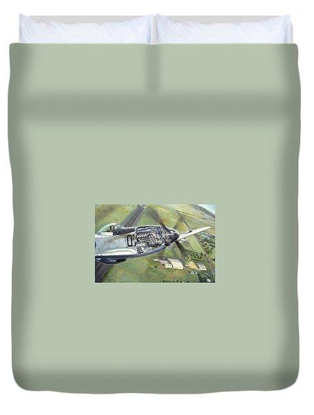 Merlin Magic Over Scone Duvet Cover